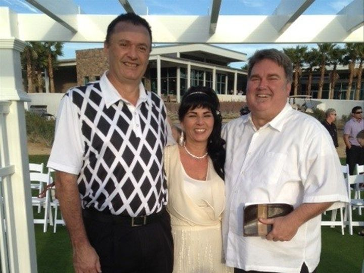 Tmx 1366389063735 Pete Olga And Rev. Don Wedding Pic Rancho Mirage, California wedding officiant