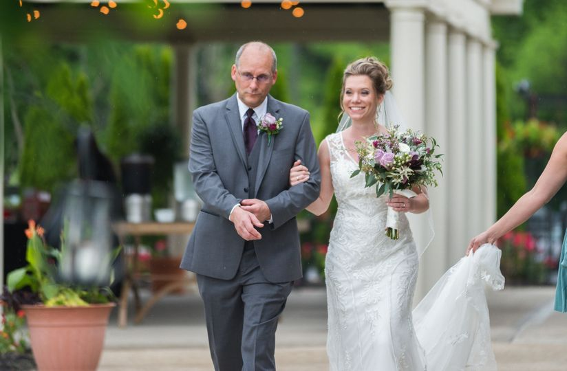 Brides Walk with Dad