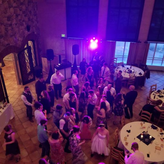 Reception dance floor