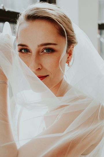Beautiful bride Lucy
