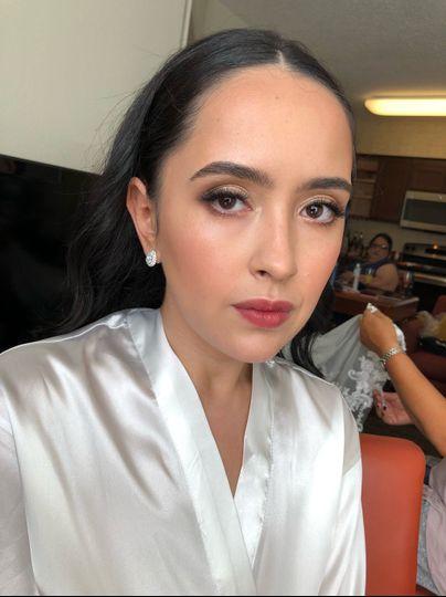 Hair and Makeup for Kiana