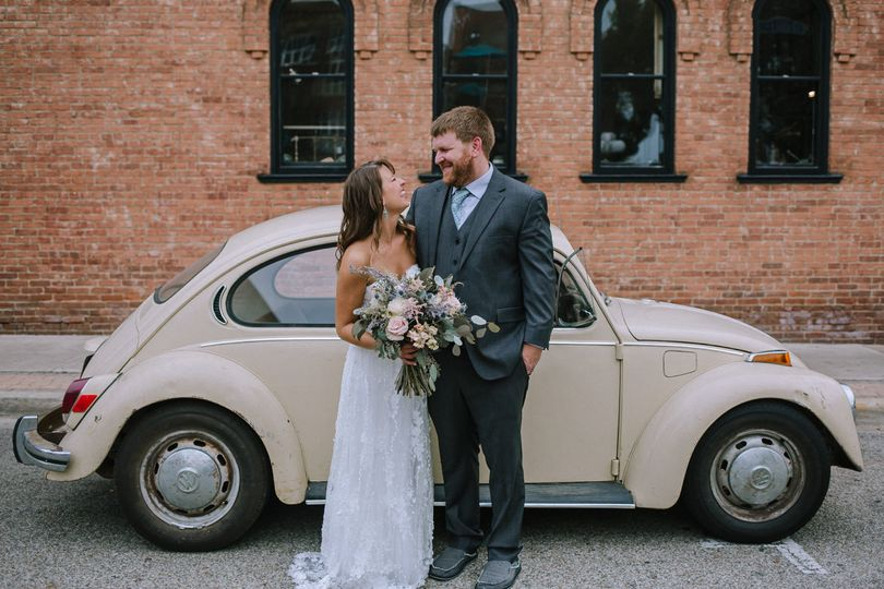 Small Downtown Wedding