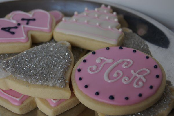 Hand-Iced Custom Sugar Cookie Favors