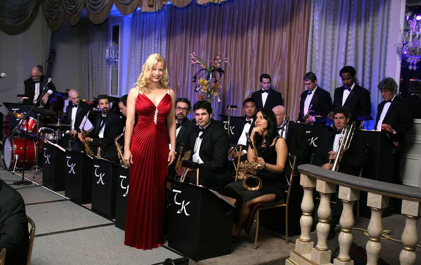 """Timatha Kasten & Her TKO """"Total Knock Out"""" Orchestra performing at the Pierre Hotel NYC"""