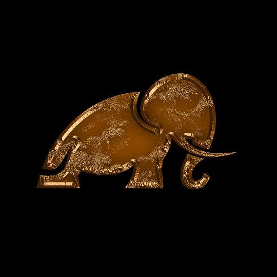 elephant gold 51 1004916 158206235088091