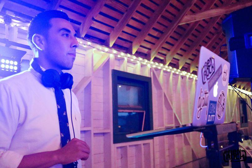 DJ'ing at Springville Ranch