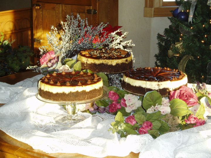 Cheesecake samples
