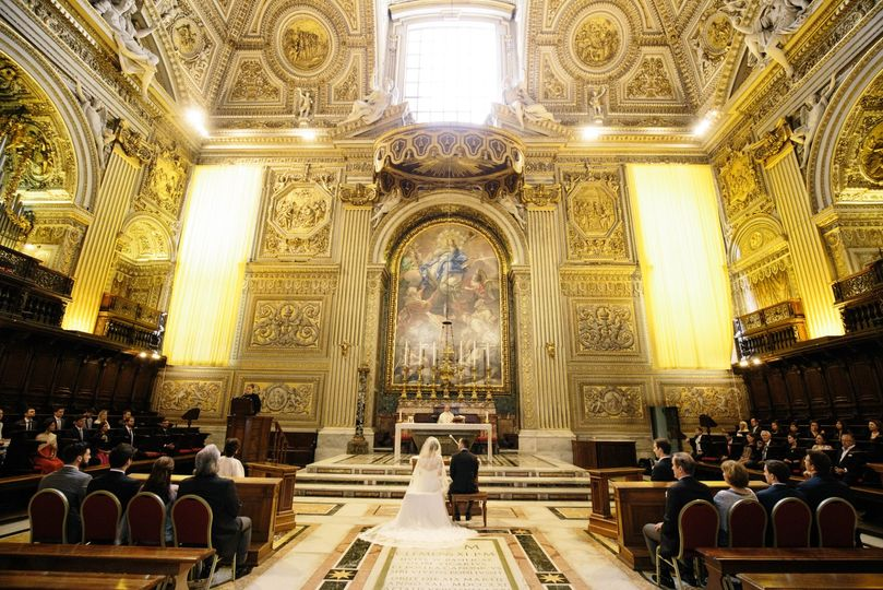 Wedding at St. Peter's