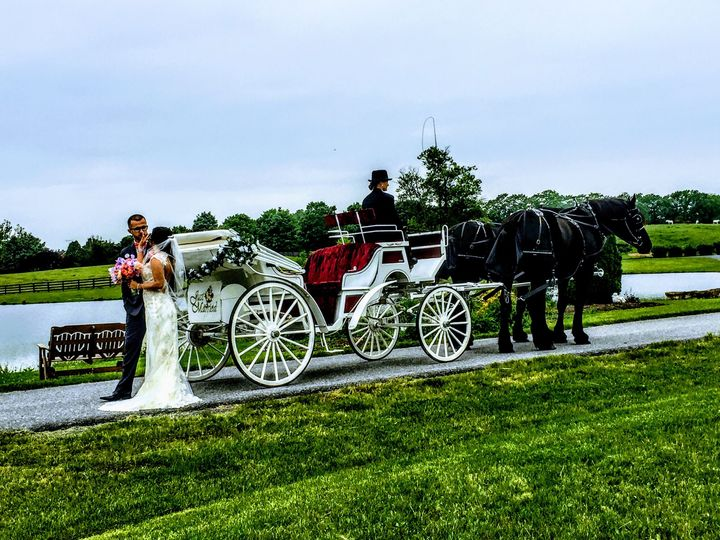 Our lovely wedding carriage is a great choice  for a traditional look.