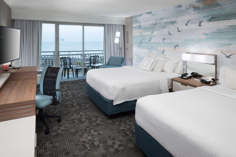 Standard ocean front rooms