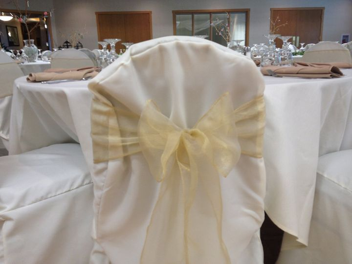 Gold Sheer (Bow Tie) at Stone Ridge Golf Club in Bowling Green www.NewChairDo.com