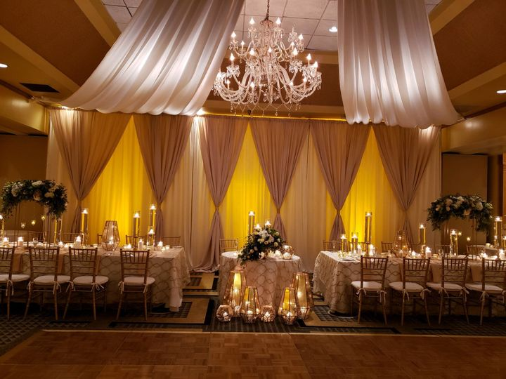Sweetheart & Head Table Design