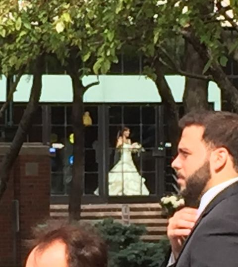 The bride from afar