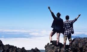 mountain top honeymoon