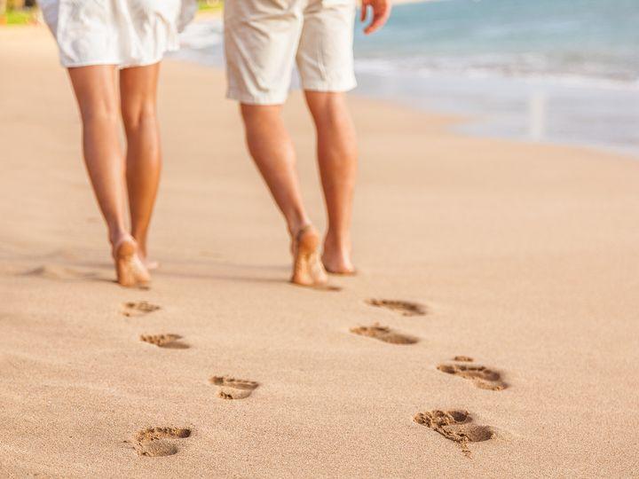 Tmx 1508008426989 Bigstock Beach Couple Relaxing At Sunse 153375362 Liberty, MO wedding travel