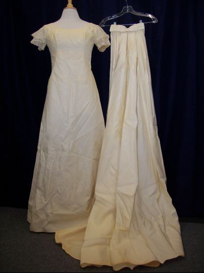 Gown restoration Before Cleaning