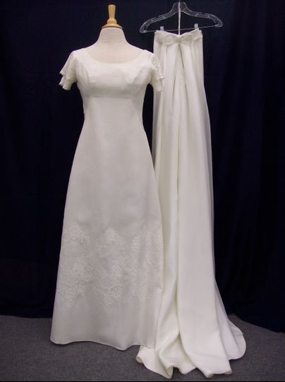 Gown restoration After Cleaning