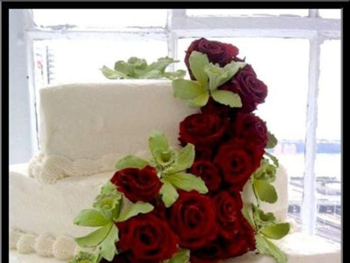 Tmx 1279337413971 Rosesorchid Brooklyn wedding cake