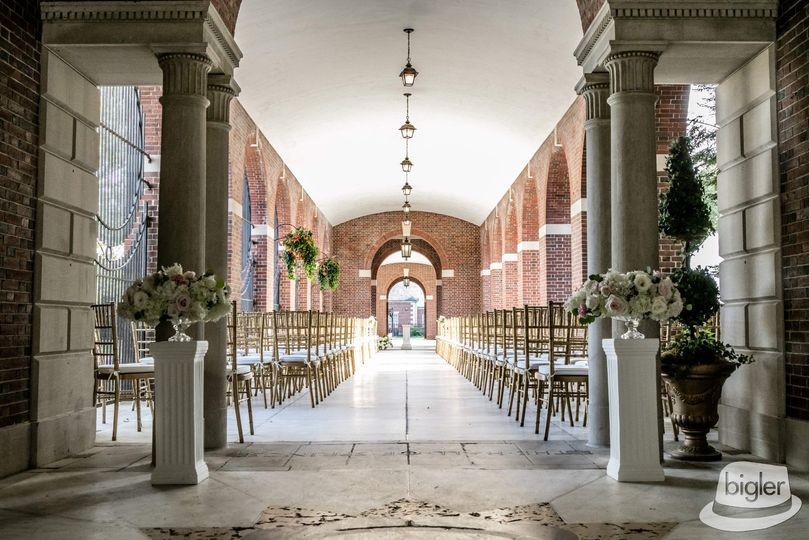 Ceremony on the Portico