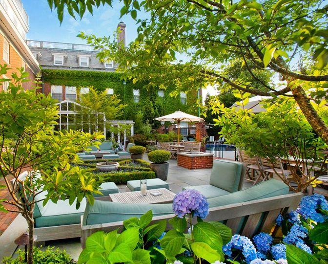 Garden Terrace greenery