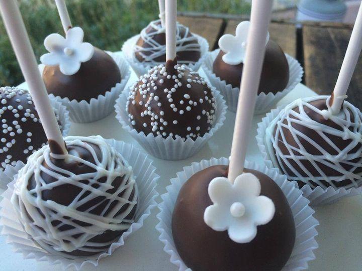 Tmx 1406393811314 Cakepops1 San Luis Obispo wedding cake