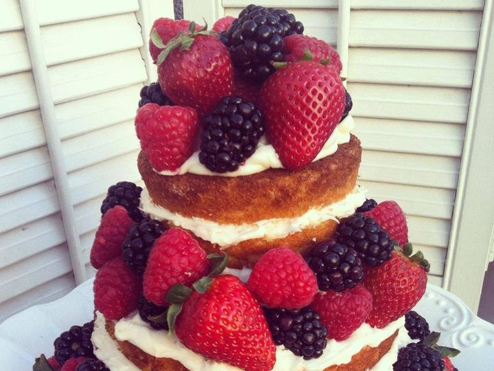 Tmx 1406393898799 Nakedcake San Luis Obispo wedding cake