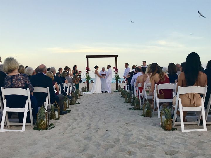 Vows on the sand