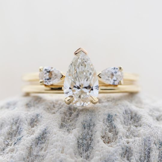 Fancy Diamond Ring Set