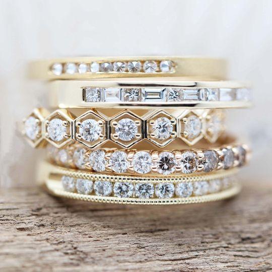 Gold Ring Super Stack
