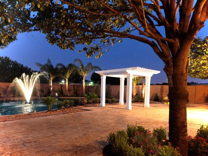 Tmx 1415929227924 Extpondnightfountain Houston, Texas wedding venue