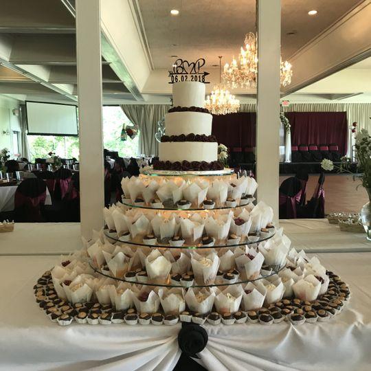 Cake, cupcakes, buckeyes