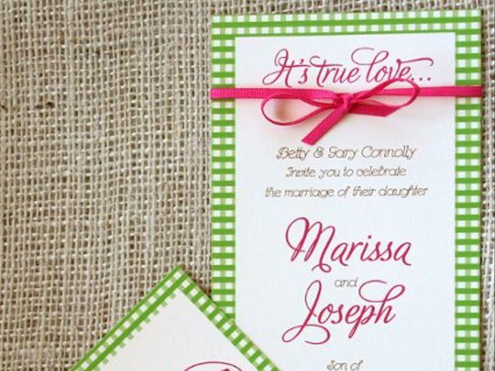 Tmx 1313166300030 IMG1249 Greenville wedding invitation