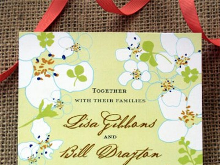 Tmx 1313166556968 IMG1045 Greenville wedding invitation