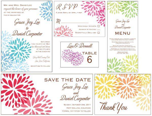 Tmx 1315520438061 Blossominvitationsuite Greenville wedding invitation