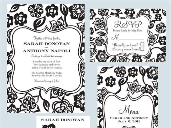Tmx 1315520546450 Folkfloralsuite Greenville wedding invitation