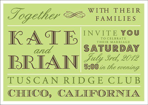Tmx 1319642526998 Budmoinvitegreen Greenville wedding invitation
