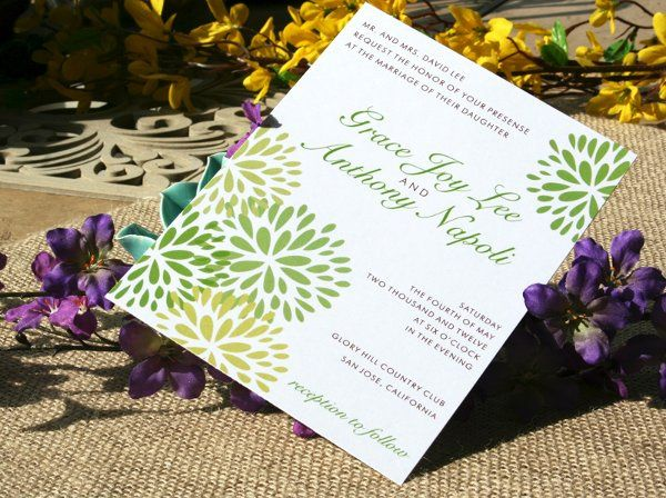 Tmx 1331923604664 Floralburst1 Greenville wedding invitation