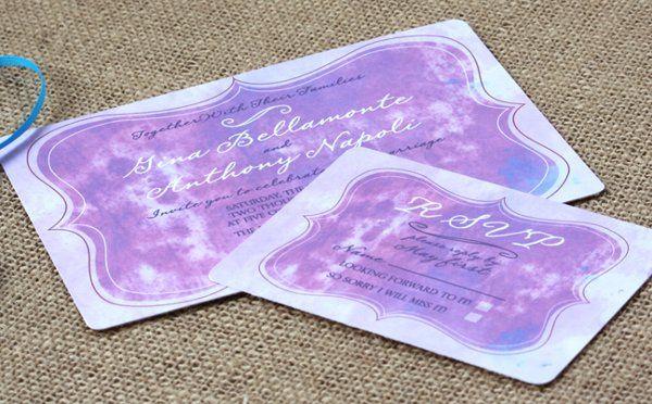 Tmx 1331923673650 Watercolorinvite Greenville wedding invitation