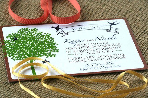 Tmx 1331923708213 Treepostcard Greenville wedding invitation
