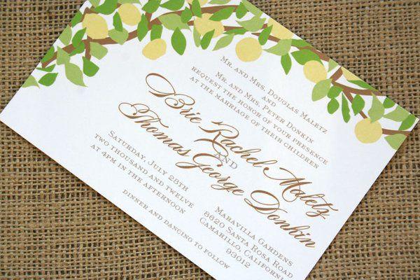 Tmx 1331923829138 Lemontreeangle Greenville wedding invitation