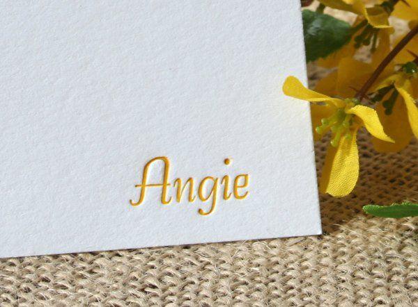 Tmx 1331924795161 Angieletterpress1 Greenville wedding invitation