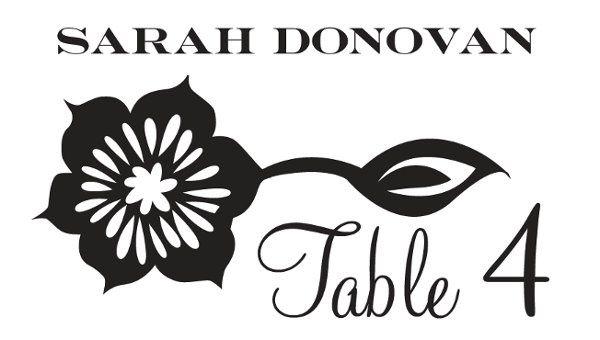 Tmx 1331924957729 Folkfloralescortcard Greenville wedding invitation