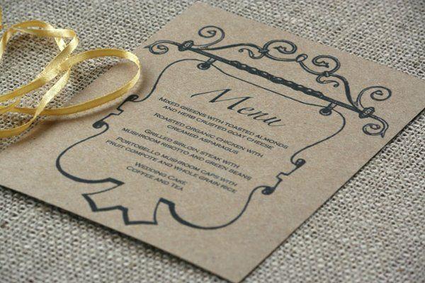 Tmx 1331925040046 Menu1 Greenville wedding invitation