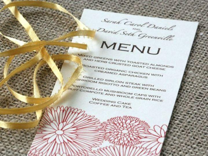 Tmx 1331925075693 Linelforalmeny Greenville wedding invitation