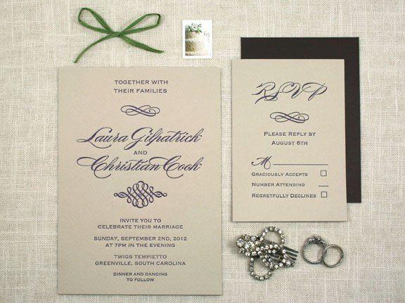Tmx 1349113889905 Scriptletterpress3 Greenville wedding invitation