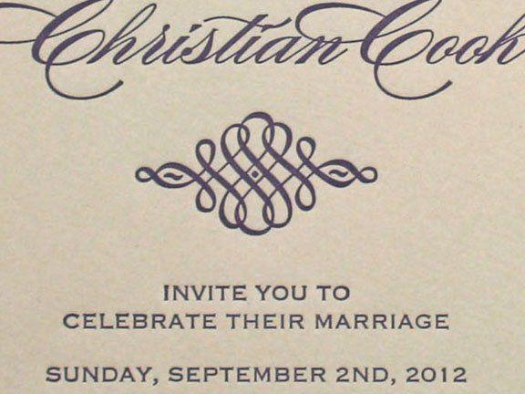 Tmx 1349113900283 Scriptletterpress2 Greenville wedding invitation