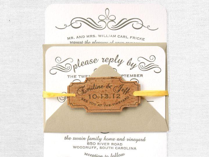Tmx 1389387438881 Calligraphy Greenville wedding invitation