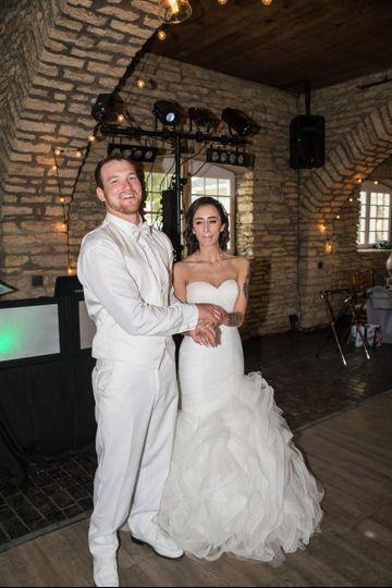 Happy couple at Mayowood