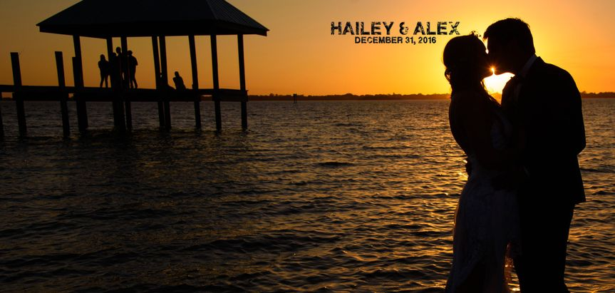 This is the album cover for this couple.  Great Sunset of course