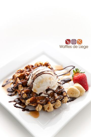 The Ice Cream Waffle Special is one of our most popular menu items. It pairs our signature Liege...